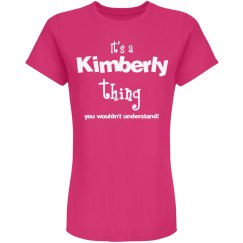 It's a kimberly thing