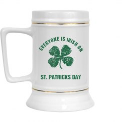 Everyone is Irish on St Patricks Day