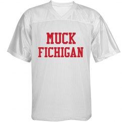 Red And White Muck Fichigan