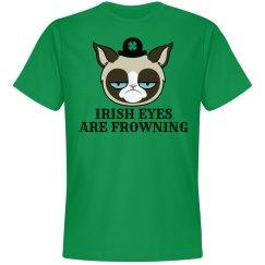 Frowning Irish Eyes St Patricks