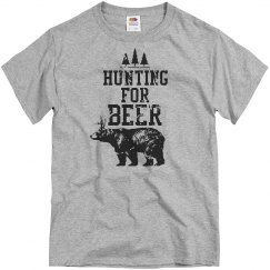 Hunting for Beer T-Shirt