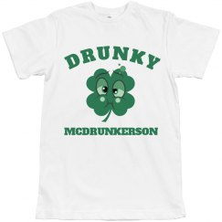 Drunky McDrunkerson St Patricks