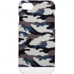 Blu/Whte Camo iPhone Case