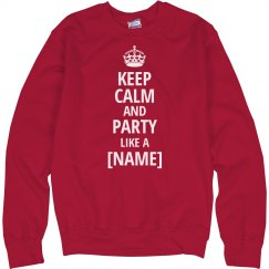 Party Calm Sweatshirt