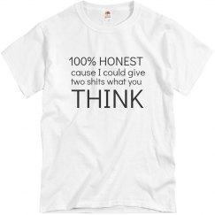 100% Honest