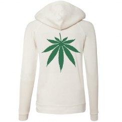 Weed Leaf Hoodie