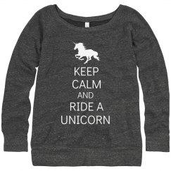 Keep Calm & Ride Unicorn