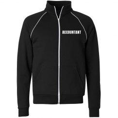 Accountant track jacket
