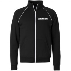 Accountant track jacket