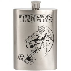 Tigers/Soccer Flask