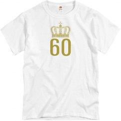 60th birthday shirt