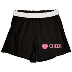 lOVE CHEER SHORTS