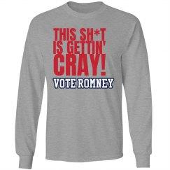 Sh*t Cray Romney Tee