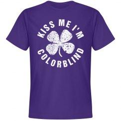Colorblind Kiss Me I'm Purple