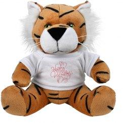 Happy Valentine's Day Tiger