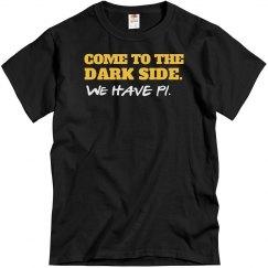 The Dark Side Has Pi