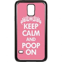 Keep Calm Poop On