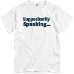 Suppositorily speaking
