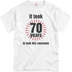 Awesome 70th Birthday
