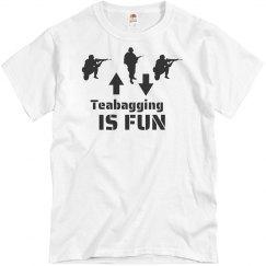 Teabagging Is Fun