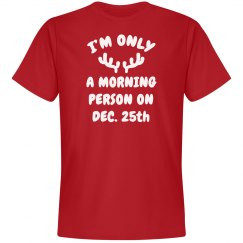 I am a Morning Person