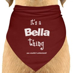 it's a bella thing you wouldn't undersdtand!