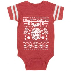 Xmas Baby Wants To Vote Hillary