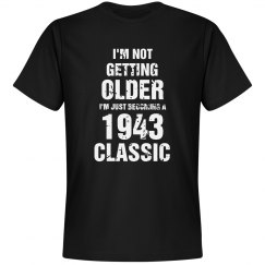 Classic 1943 birthday shirt