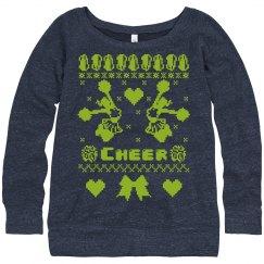 Ugly Christmas Hoodies Cheergirls