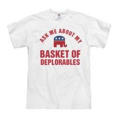 Basket Of Deplorables Funny Trump