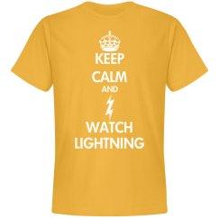 keep calm and watch lightning