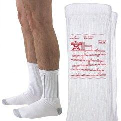 Video Game/Santa Socks