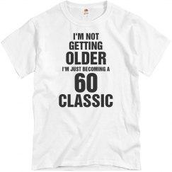 60 classic birthday shirt