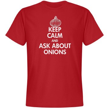 KEEP CALM ONION TEST