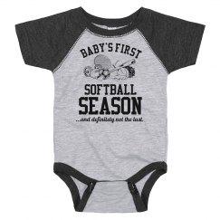 Baby's First Softball Season