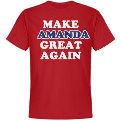 Make Amanda Great Again
