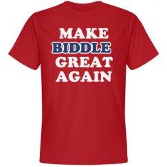 Make Biddle Great Again