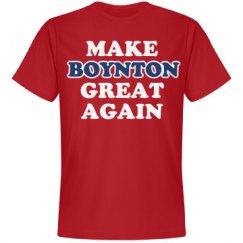 Make Boynton Great Again