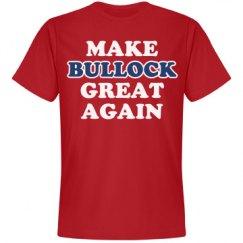 Make Bullock Great Again