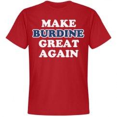 Make Burdine Great Again