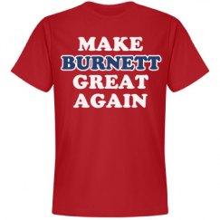 Make Burnett Great Again