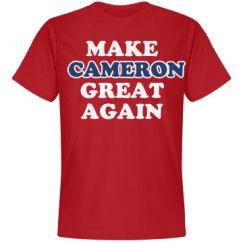 Make Cameron Great Again