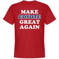 Make Coyote Great Again