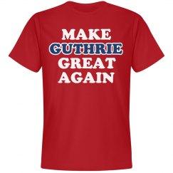 Make Guthrie Great Again