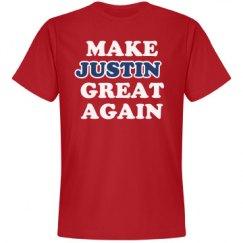 Make Justin Great Again