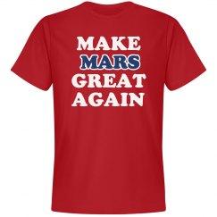 Make Mars Great Again