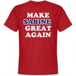 Make Sabine Great Again