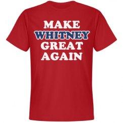 Make Whitney Great Again