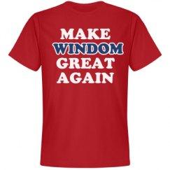 Make Windom Great Again