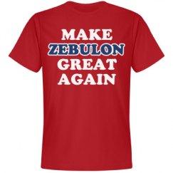 Make Zebulon Great Again